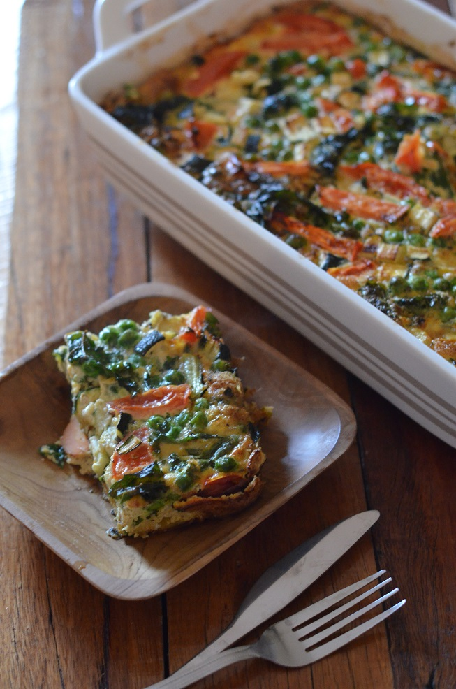 Dairy Free And Gluten Free Vegetable Frittata Amy Innes